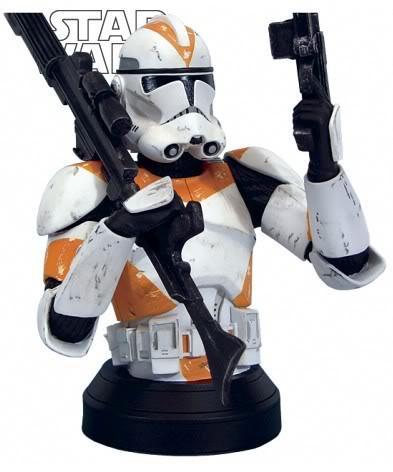 Clone Trooper Utapau (Orange) ROTS Mini bust Cloner10