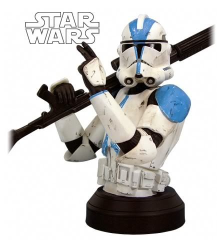 Clone Trooper 501st Special Ops (Blue) ROTS Mini bust Clonet11