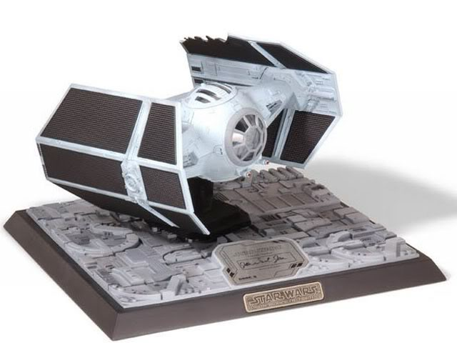 Code 3 - Tie Advanced X-1 Damaged - Die Cast Replica Co3-1510