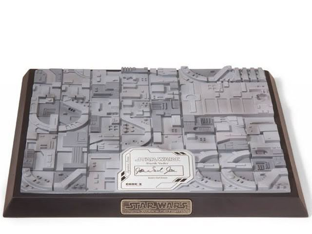 Code 3 - Tie Advanced X-1 Damaged - Die Cast Replica Co3-1511