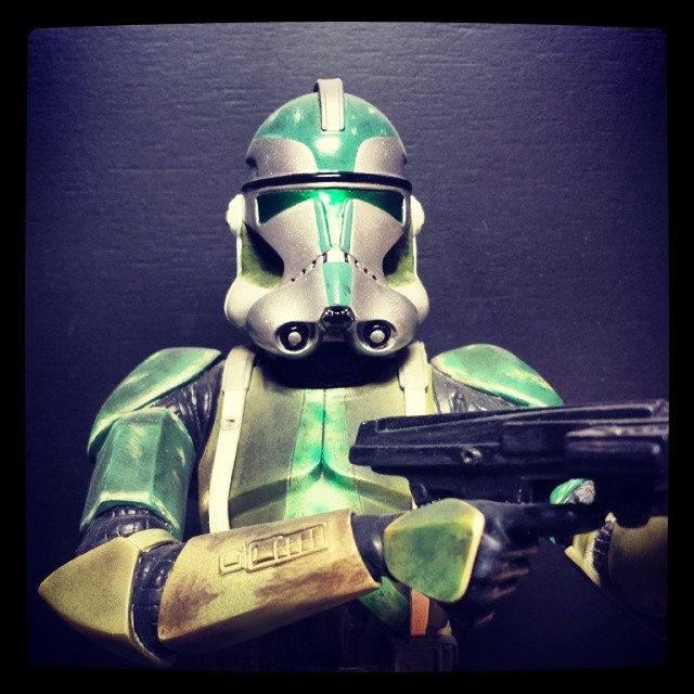 Gentle Giant - Clone Commander Gree mini bust Comman10