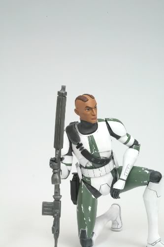 KOTOBUKIYA - THE CLONE WARS ARTFX+ COMMANDER GREE Comman29