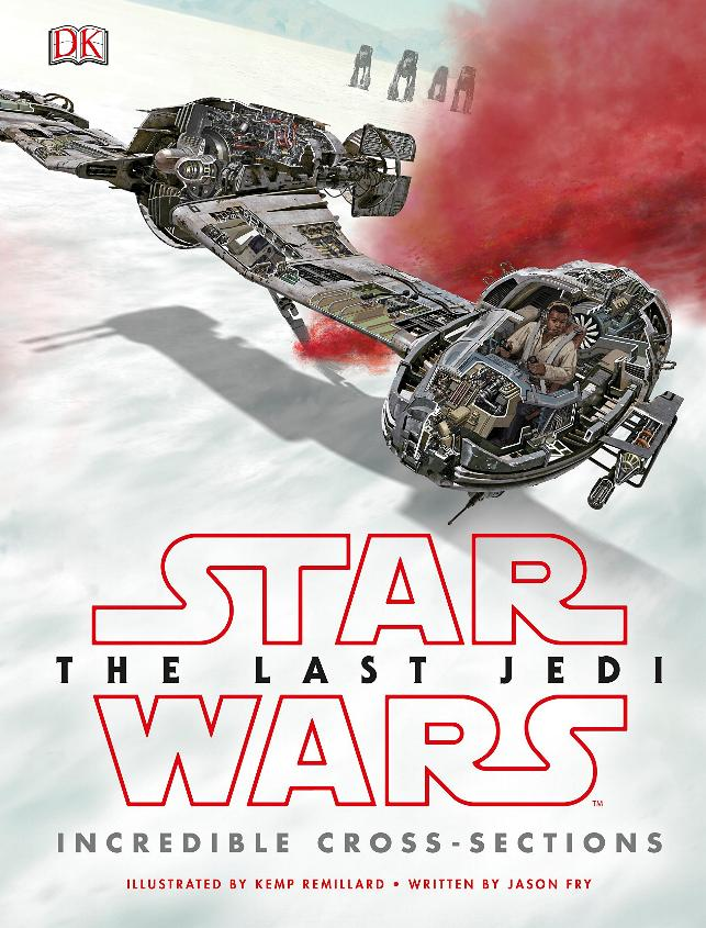 Star Wars The Last Jedi Incredible Cross-Sections Cross-10