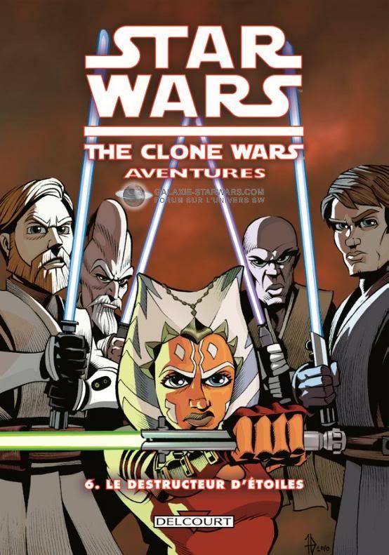 COLLECTION STAR WARS - CLONE WARS AVENTURES Cwaven11