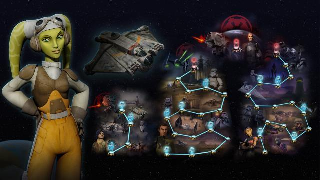 Star Wars Rebels: Recon Missions Cwb0311