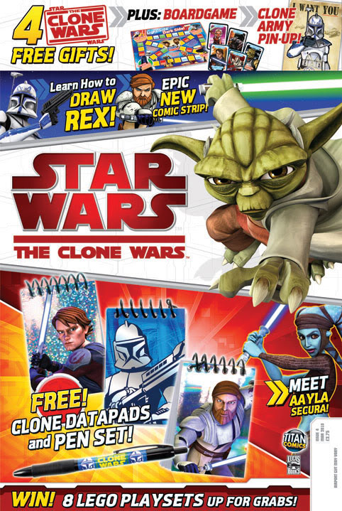 Star Wars - The Clone Wars Magazine Cwukco10