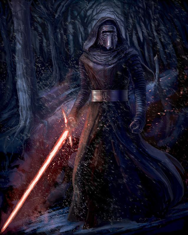 Artwork Star Wars - ACME - Dark Warrior Dark_w10