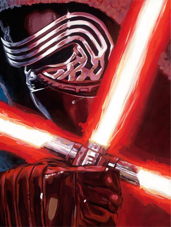 Artwork Star Wars - ACME - Dark Warrior Kylo Ren Dark_w11