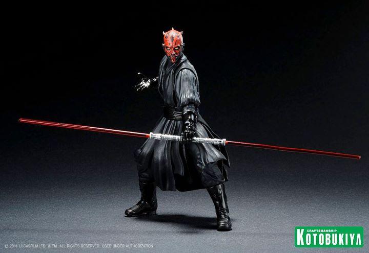 Kotobukiya - Darth Maul - ARTFX+  Darth-10
