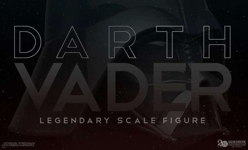 Sideshow - Darth Vader  Legendary Scale Figure Darthv10