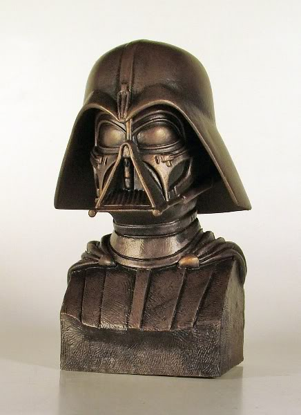Gentle Giant - Darth Vader McQuarrie Bronze Bust Darthv11