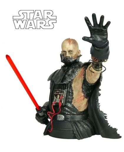 Gentle Giant - Darth Vader Force Unleashed Mini Bust Darthv26