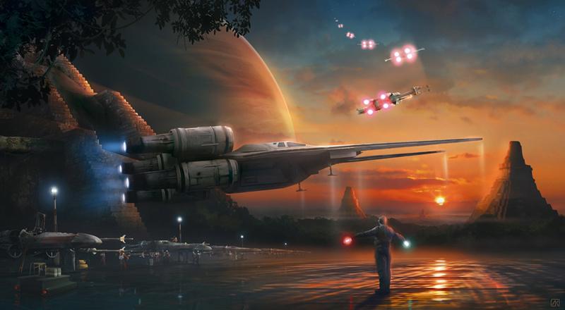 Artwork Star Wars Rogue One - ACME - Dawn of Rebellion Dawn_o10