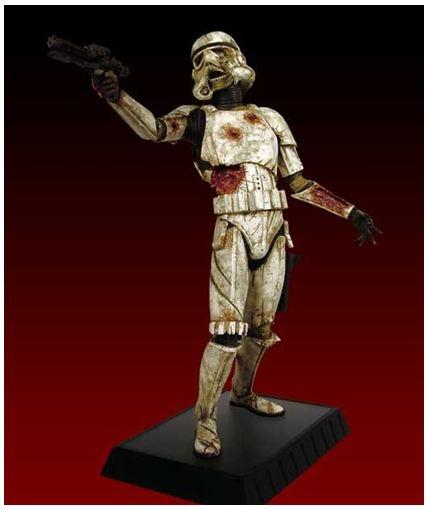 Gentle Giant - Death Trooper Deluxe Statue Deadtr10