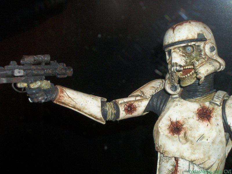 Gentle Giant - Death Trooper Deluxe Statue Death012