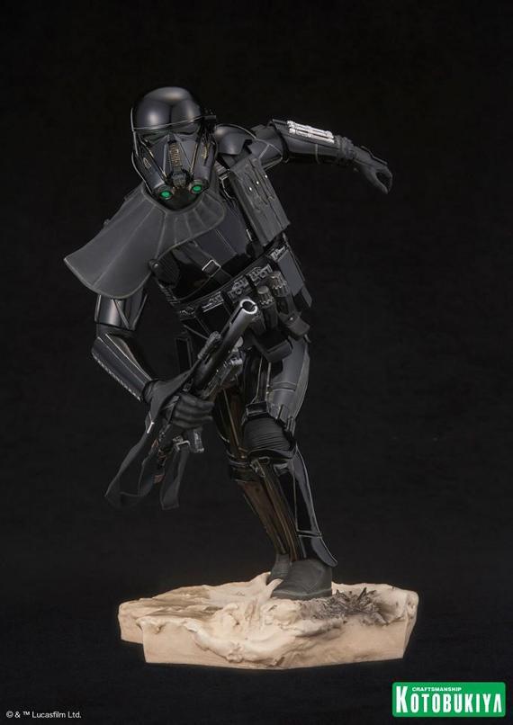 Kotobukiya Star Wars - Death Trooper ArtFX Statue   Death_12