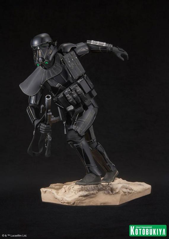 Kotobukiya Star Wars - Death Trooper ArtFX Statue   Death_13