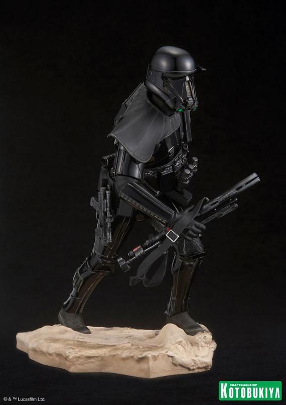 Kotobukiya Star Wars - Death Trooper ArtFX Statue   Death_14
