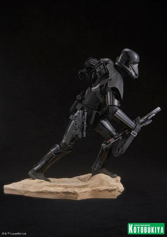 Kotobukiya Star Wars - Death Trooper ArtFX Statue   Death_15
