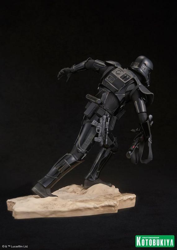 Kotobukiya Star Wars - Death Trooper ArtFX Statue   Death_16