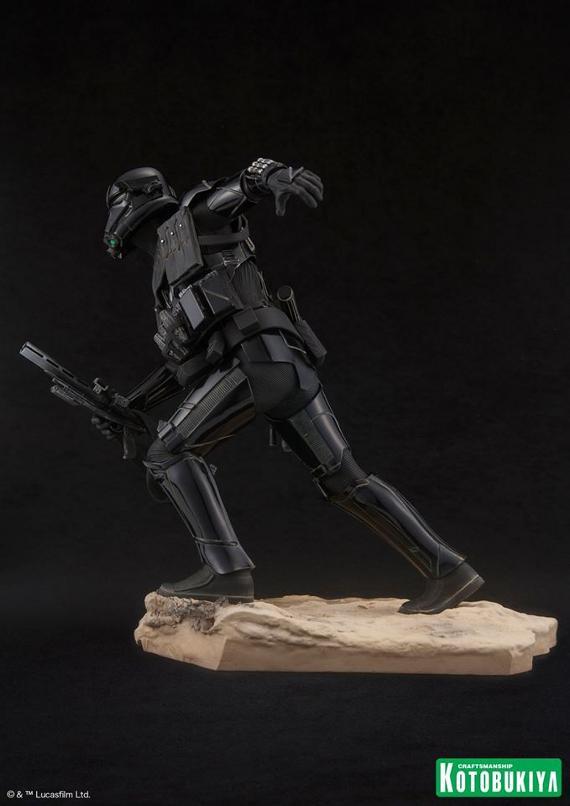 Kotobukiya Star Wars - Death Trooper ArtFX Statue   Death_19