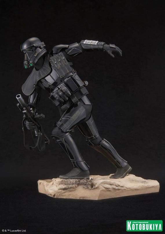 Kotobukiya Star Wars - Death Trooper ArtFX Statue   Death_20