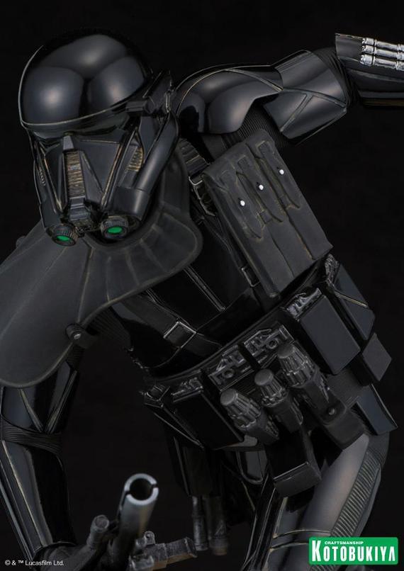 Kotobukiya Star Wars - Death Trooper ArtFX Statue   Death_23