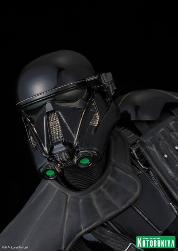 Kotobukiya Star Wars - Death Trooper ArtFX Statue   Death_24