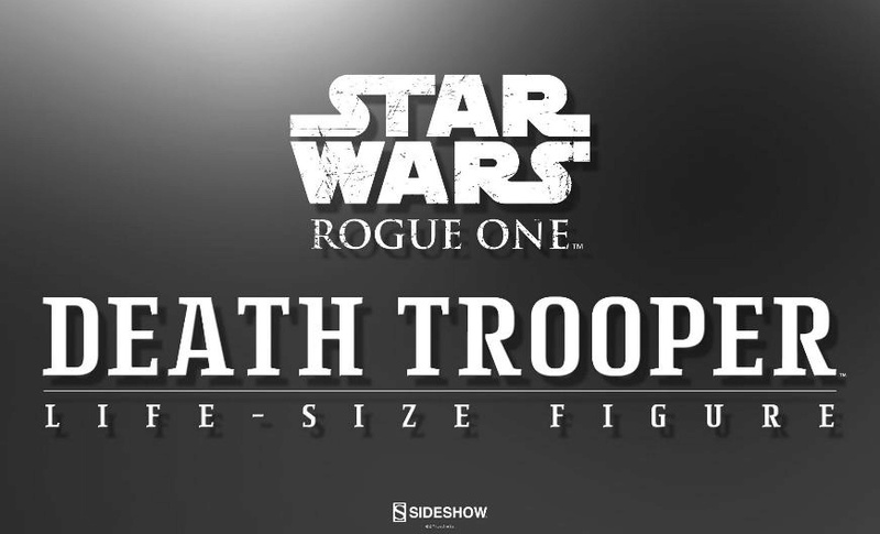 Sideshow Star Wars Rogue One Death Trooper Life-Size Figure Deatht10