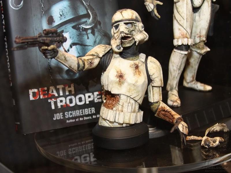 Gentle Giant - Death Trooper Mini Bust Deatht12