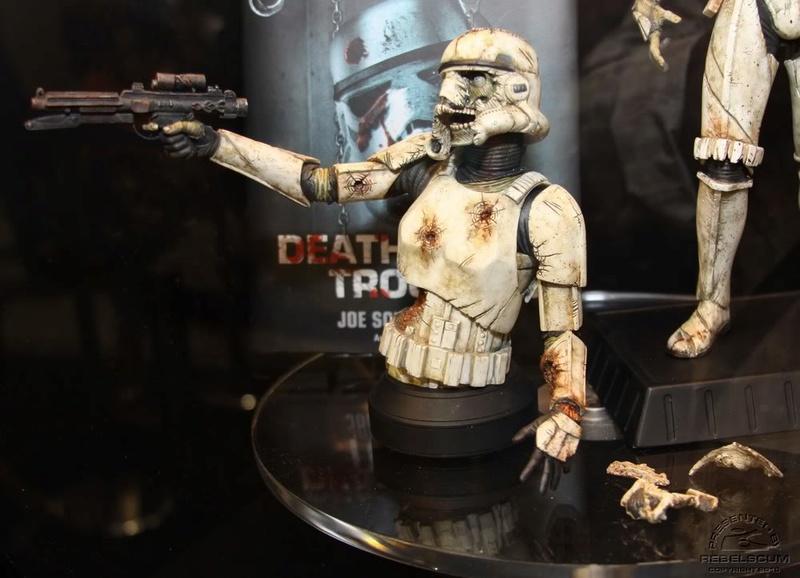 Gentle Giant - Death Trooper Mini Bust Deatht14
