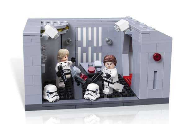 LEGO Exclu Star Wars Celebration 2017 Detention Block Rescue Detent11