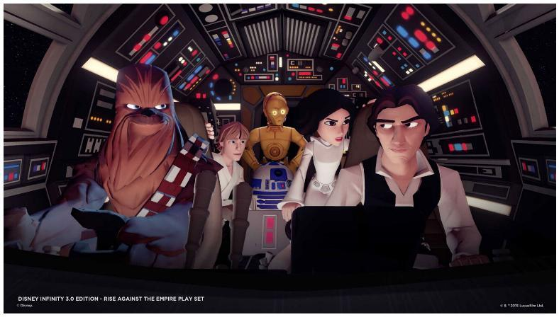 Disney Star Wars Infinity 1.0, 2.0 et 3.0 Star Wars Disney11