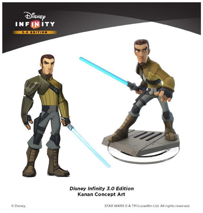Disney Star Wars Infinity 1.0, 2.0 et 3.0 Star Wars Disney23