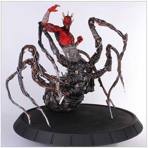Gentle Giant - Clone Wars - Darth Maul Spider Statue Dmspid11