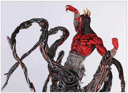 Gentle Giant - Clone Wars - Darth Maul Spider Statue Dmspid13