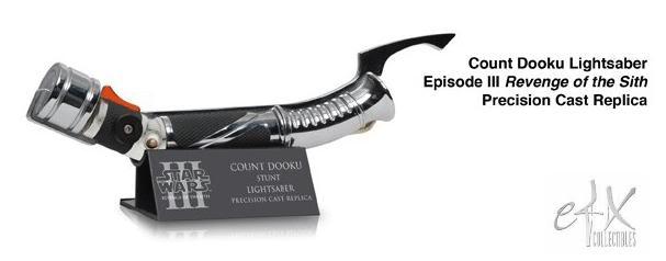 eFx - Count Dooku Lightsaber Ep III Precision Cast Replica Dookul10