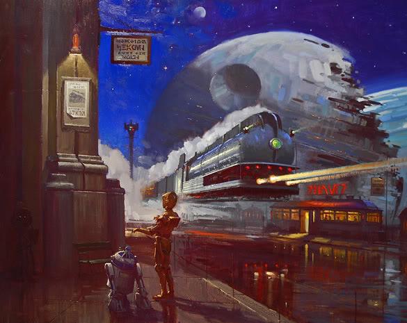 Artwork Star Wars - ACME - Droids Droids12