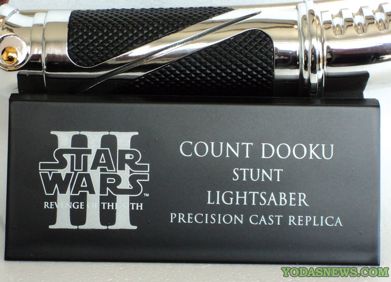 eFx - Count Dooku Lightsaber Ep III Precision Cast Replica Dsc00410