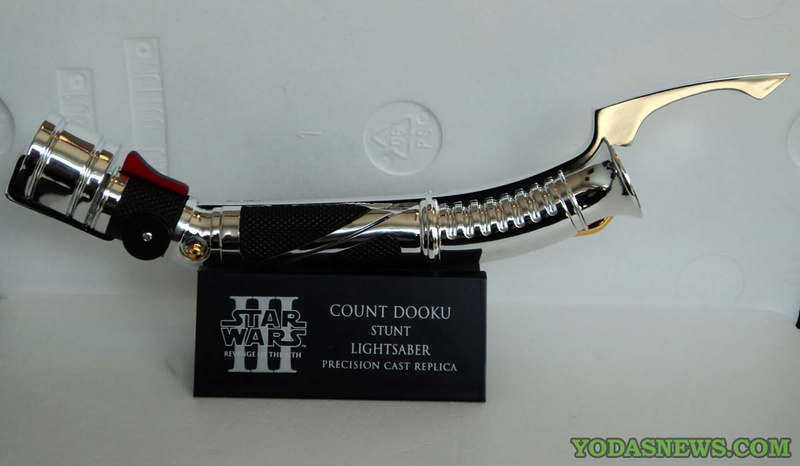 eFx - Count Dooku Lightsaber Ep III Precision Cast Replica Dsc00512