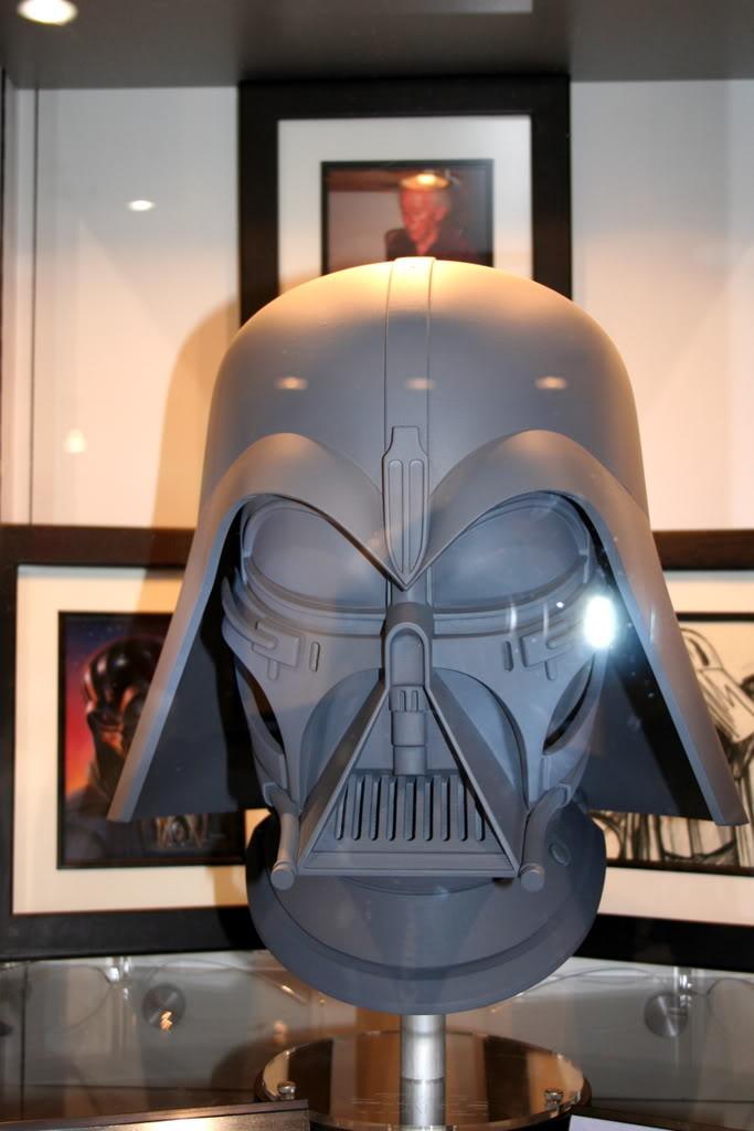 Efx - Darth Vader helmet - Ralph MC QUARRIE concept Dvc310