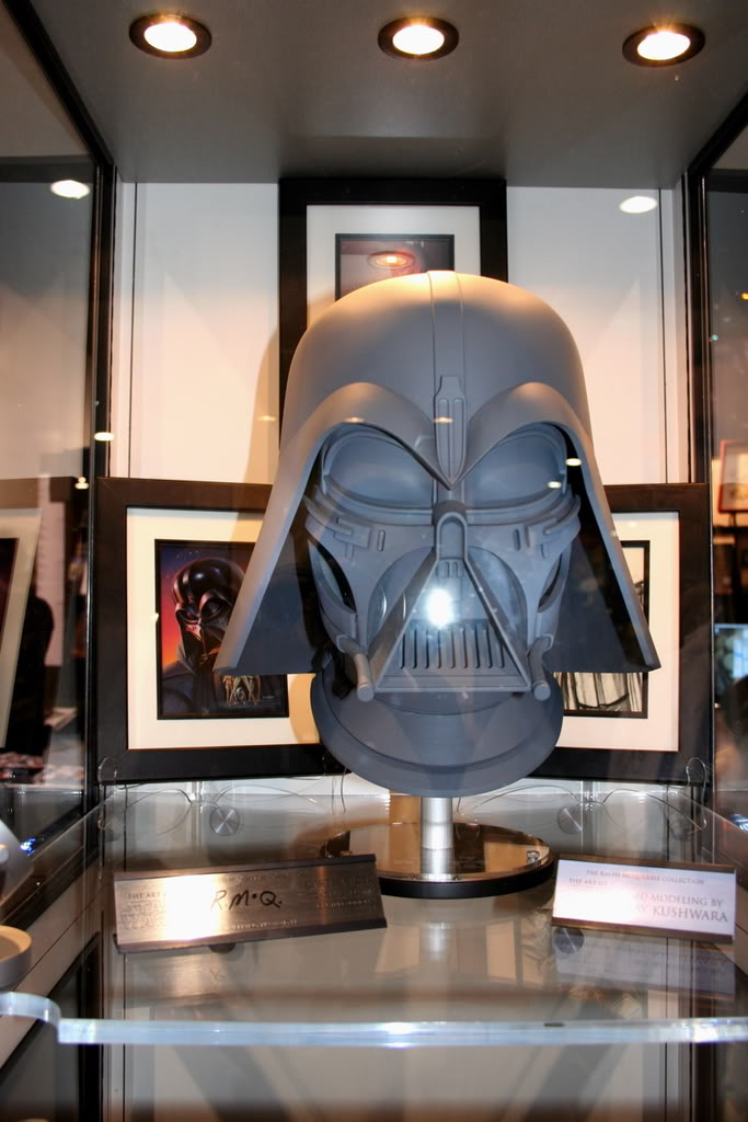Efx - Darth Vader helmet - Ralph MC QUARRIE concept Dvc410
