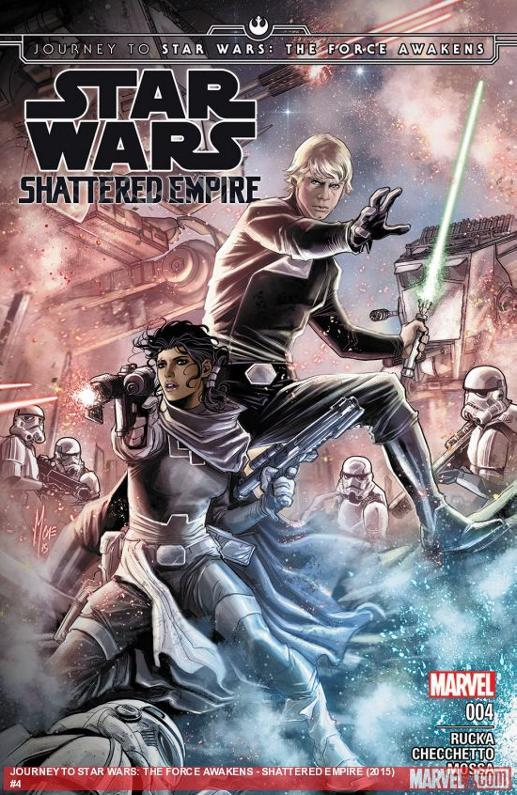 Marvel Comics US - Star Wars Shattered Empire  E0410