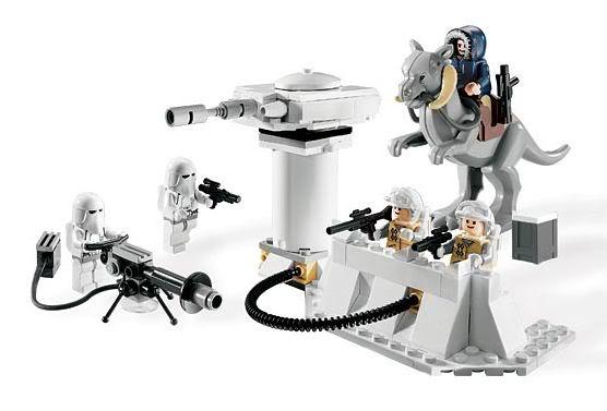 LEGO STAR WARS - 7749 - Echo Base Echo0110