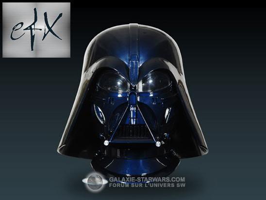 Efx - Darth Vader helmet - Ralph MC QUARRIE concept Efx0310