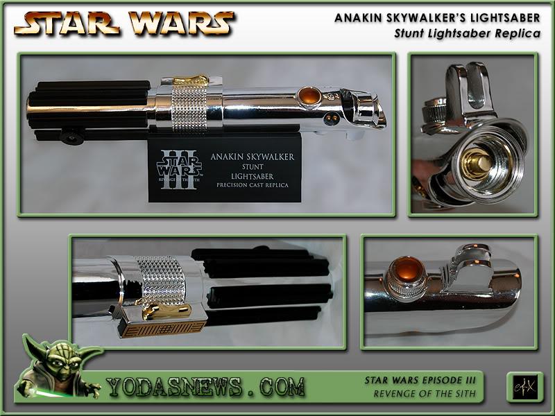 eFx - Anakin Skywalker Lightsaber - Stunt Replica Efxstu11