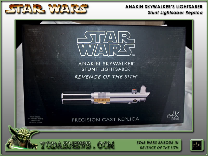 eFx - Anakin Skywalker Lightsaber - Stunt Replica Efxstu12