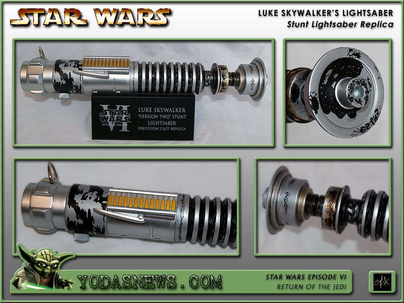 "eFx - Luke Skywalker Lightsaber ""Version 2"" - Stunt Replica Efxstu14"
