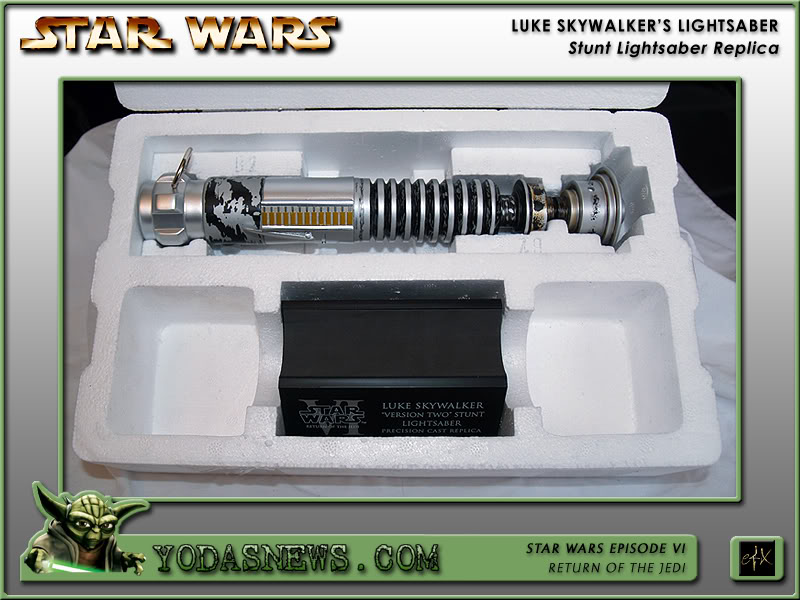 "eFx - Luke Skywalker Lightsaber ""Version 2"" - Stunt Replica Efxstu16"