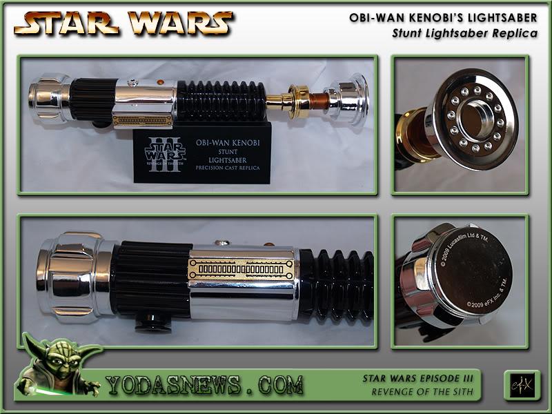 eFx - Obi-Wan Kenobi Lightsaber - Stunt Replica Efxstu18